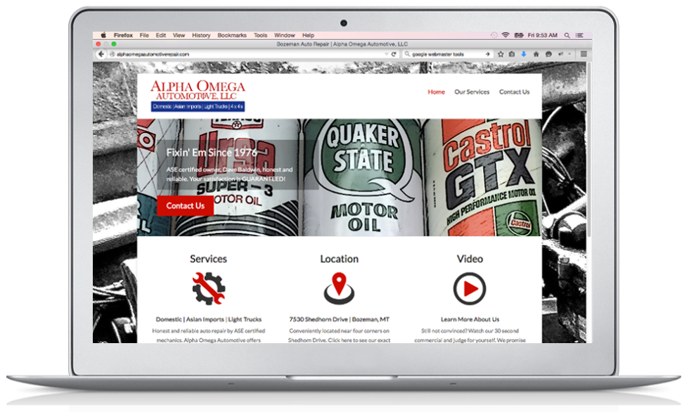 Alpha Omega Automotive Repair