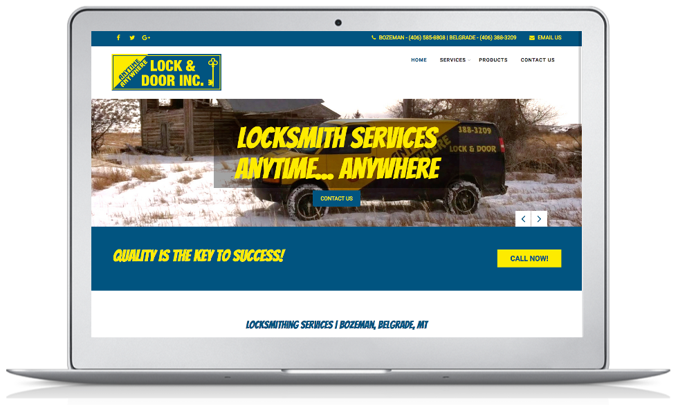 Locksmith | Belgrade, MT